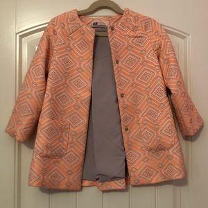 H&M long jacket size 4-5